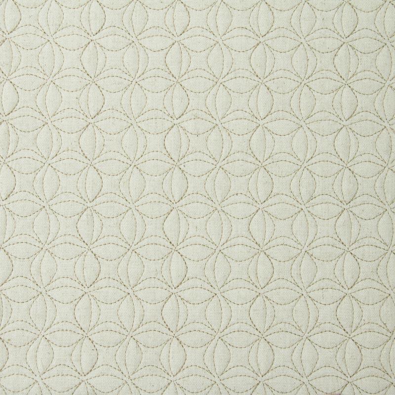 Tecido Matelassado Linho Flor de Lótus Pequena - 50cm X 140cm