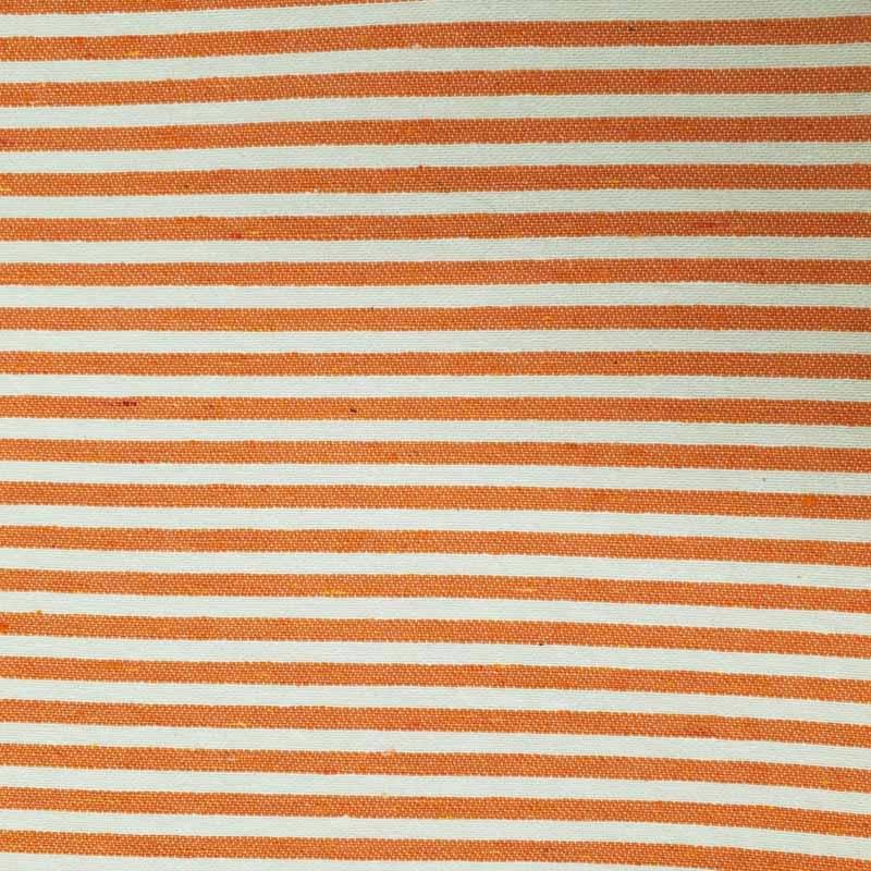 Tecido Tapeçaria Para Artesanato - Listrado Laranja- 50cm x 140cm