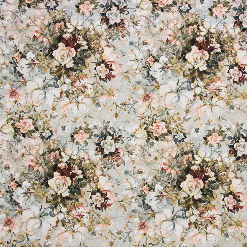 Tecido Tricoline Digital 100% Algodão 1000 Tons - Estampa Adele - 50cm x 150cm