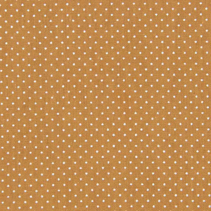 Tecido Tricoline Estampado - Poá Telha - 50cm X150cm