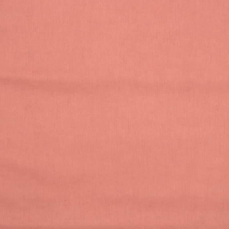 Tecido Tricoline Estonado - Goiaba - 50cm X150cm