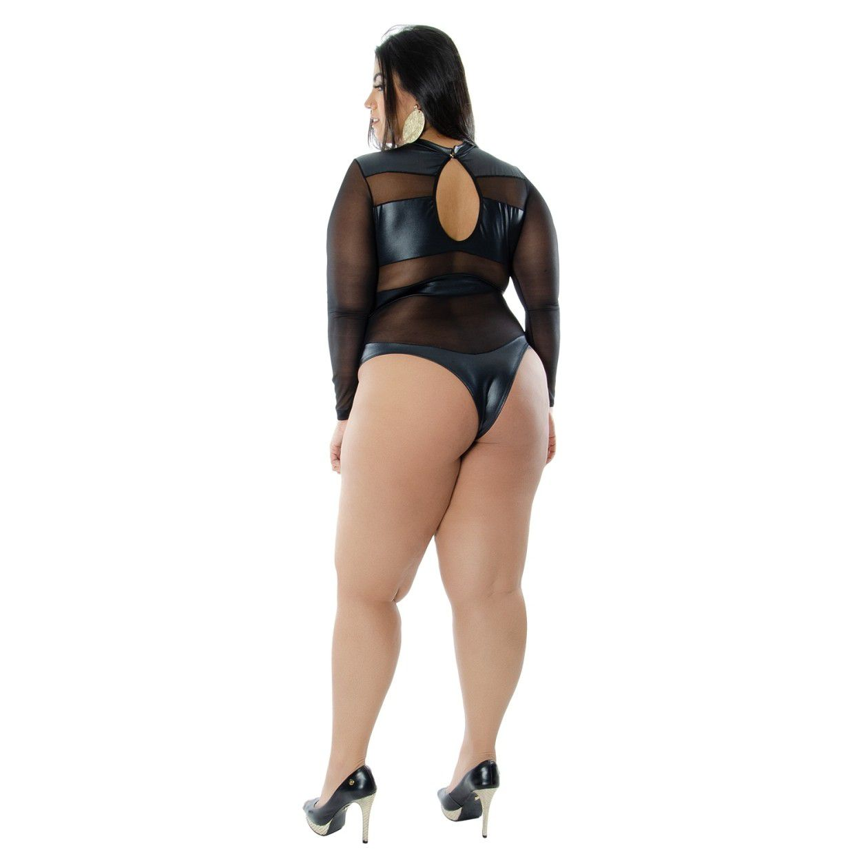 Body Amber Plus Size (Manequins 44 ao 50)