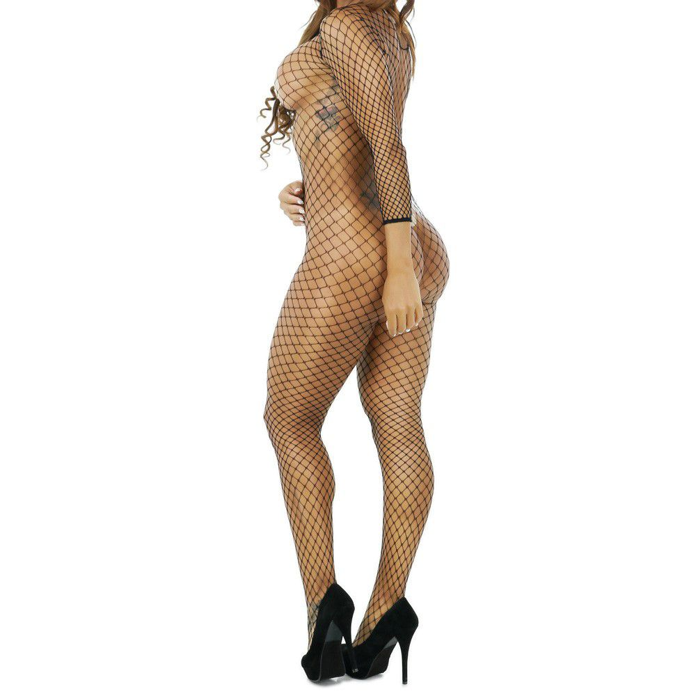 Body Fishnet Arrastão Maldivas (veste 38 Ao 46)