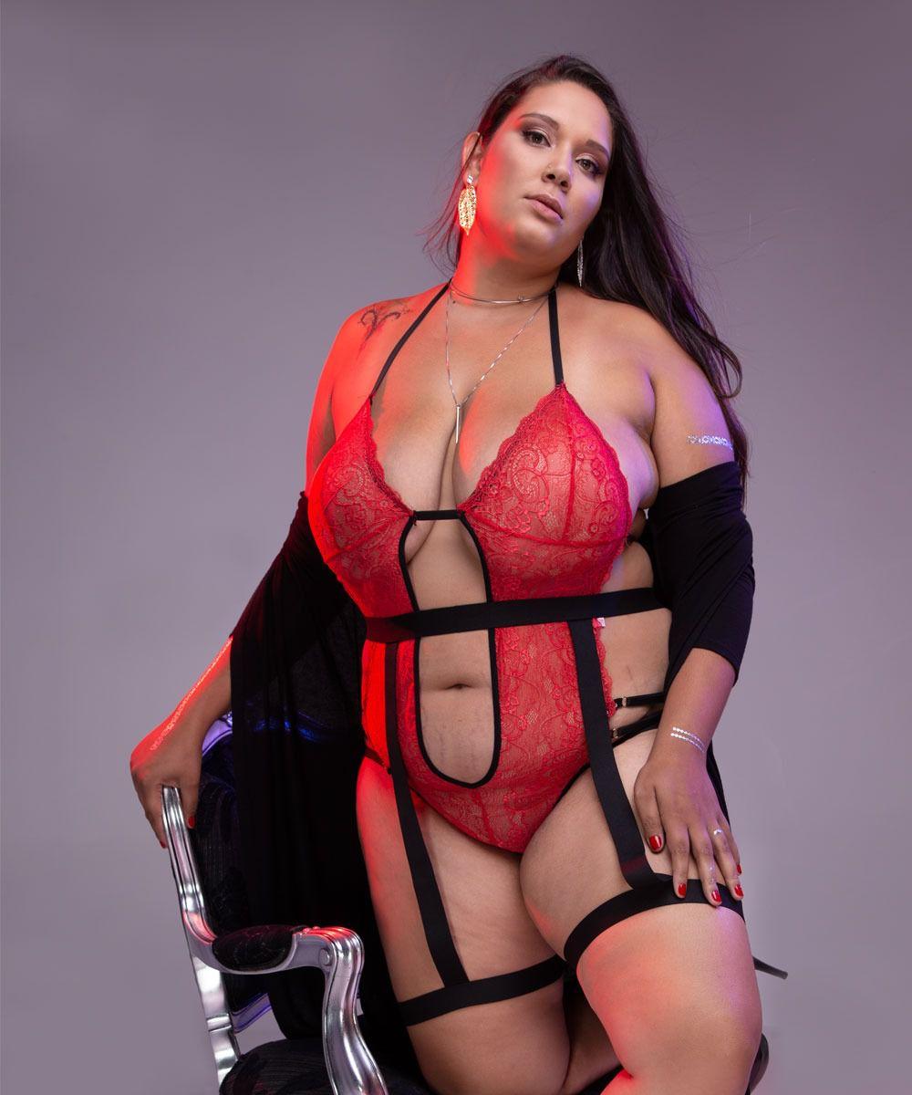 Body Plus Size Elementar Áries (Tam. EXG – veste manequins 48 ao 54)