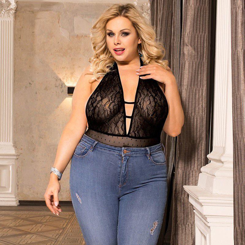 Body Plus Size Sensual Guam (Tamanho 5XL, Veste Manequins 50 e 52)