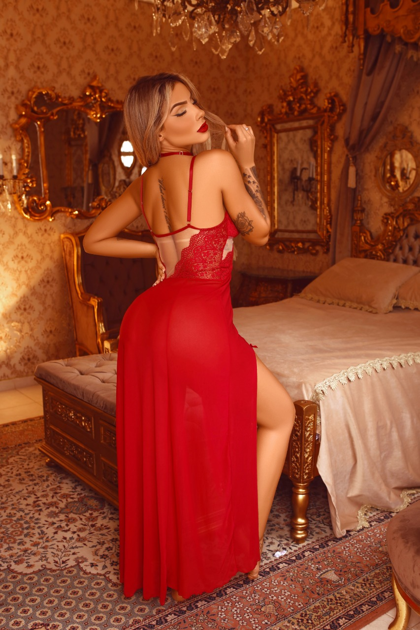 Camisola Longa Luxo L'Amour - Segredo Lacrado