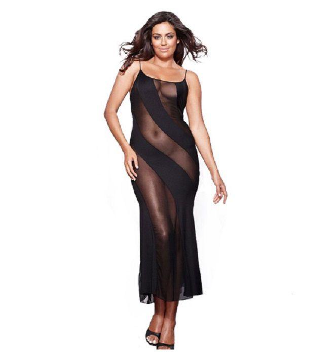 Camisola Plus Size Sensual Filipinas (Veste Manequim 48)