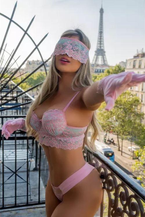 Conjunto Paris com Semi Fio Completo - 5 Peças - Segredo Lacrado