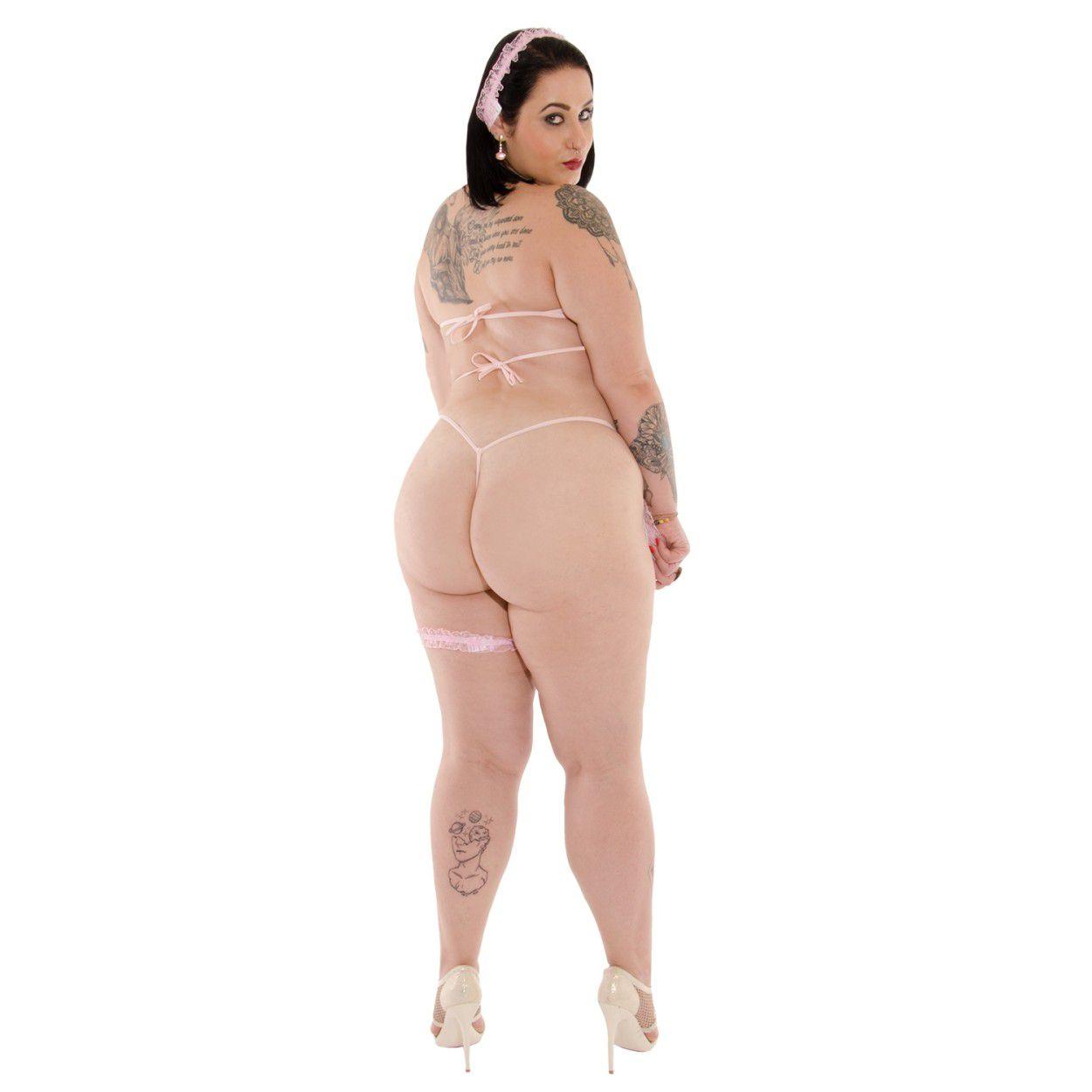 Fantasia Babá Ludmila Plus Size (Manequins 44 ao 50)