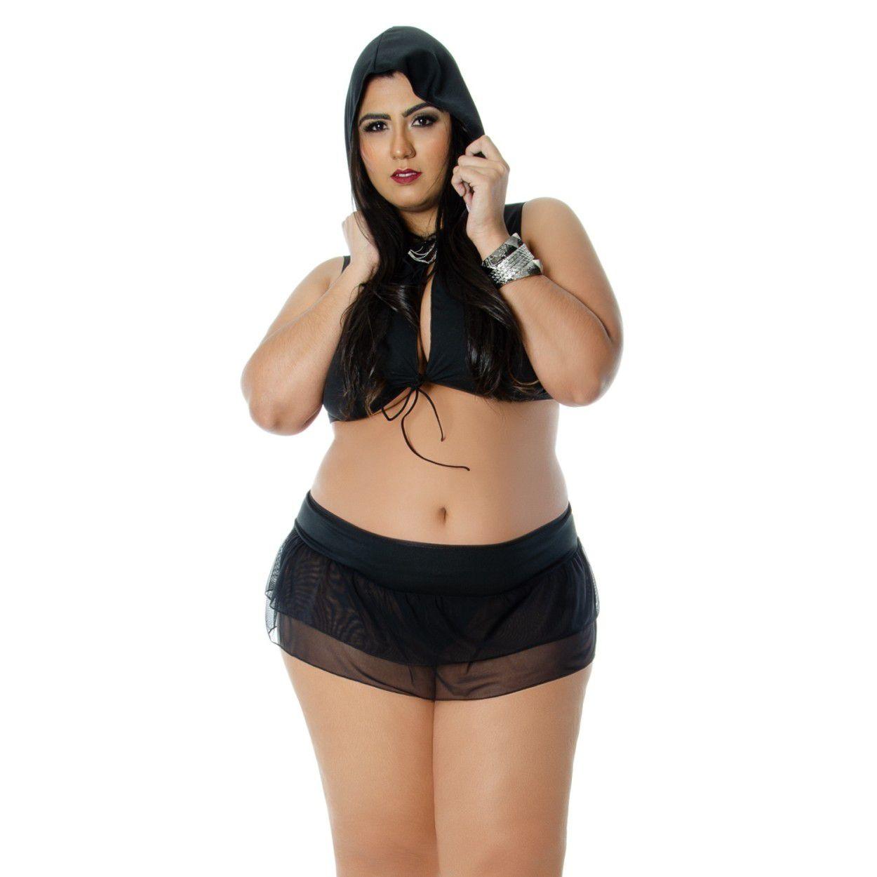 Fantasia Bandida Plus Size (Manequins 44 ao 50)