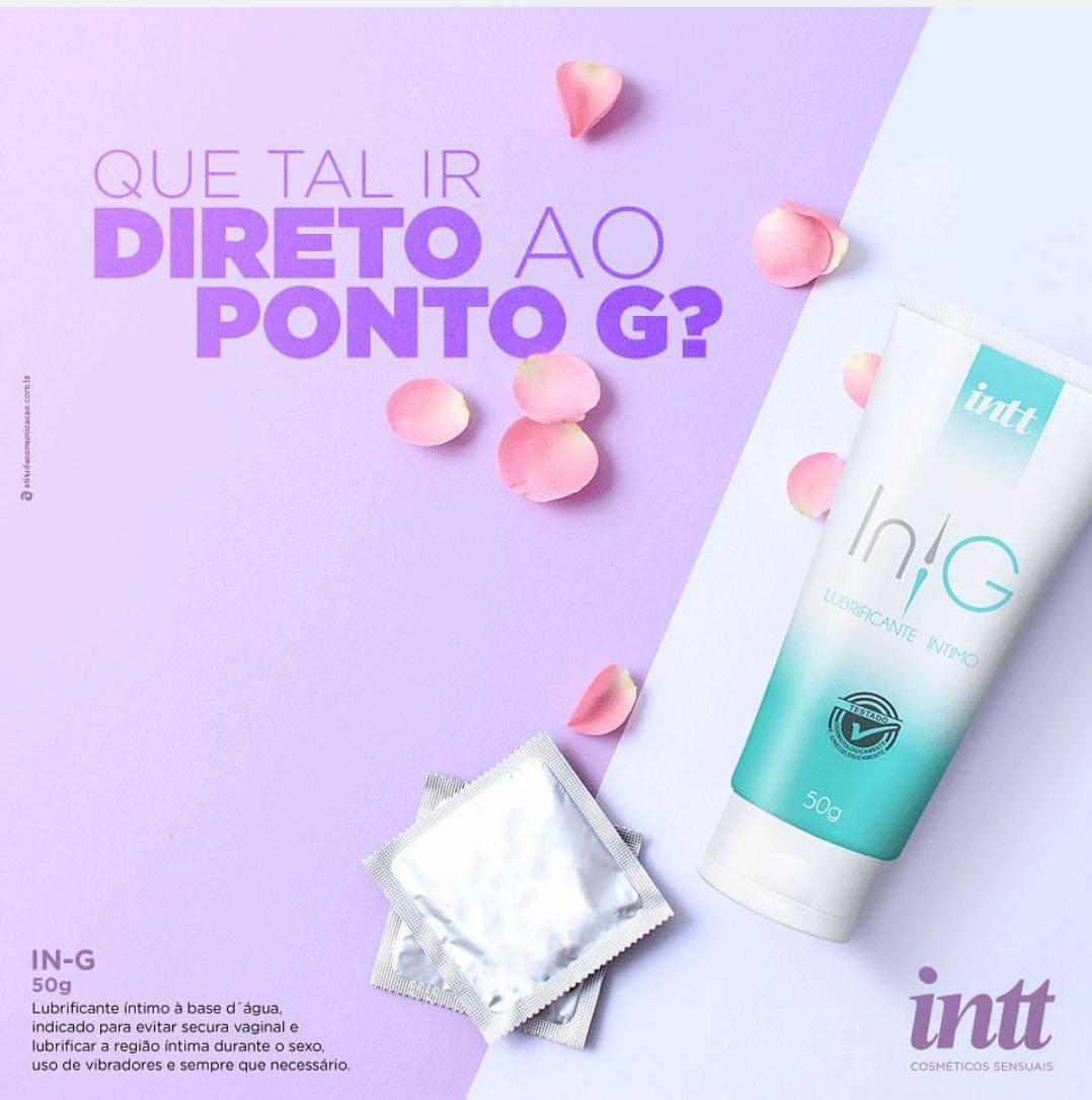 IN G LUBRIFICANTE ÍNTIMO 50G – INTT