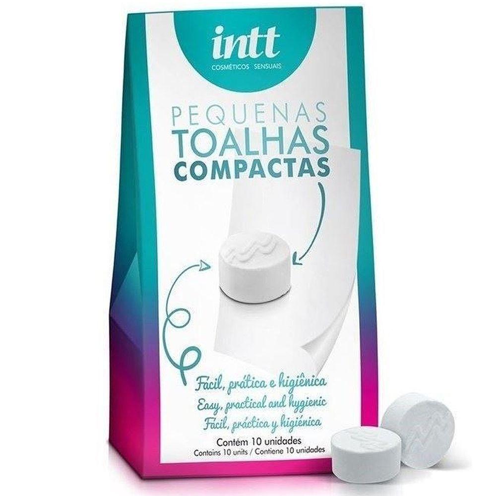 Kit 10 Toalhas Higienizadoras Compactas - Intt