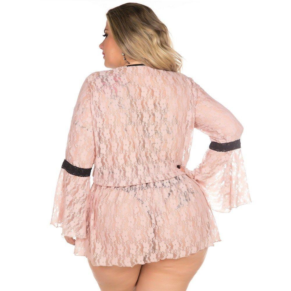 Robe Plus Size Sensual Ana Júlia (Veste 48 e 50)