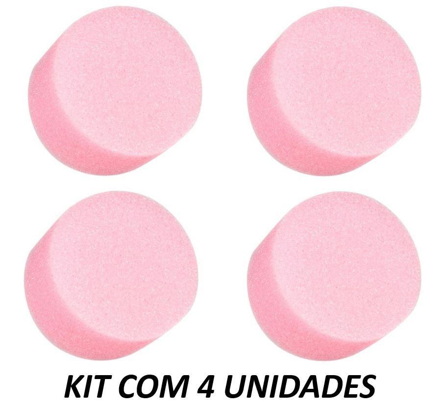 Soft-Tampons Redondo - Absorvente Íntimo Interno (Kit com 4 Unidades)