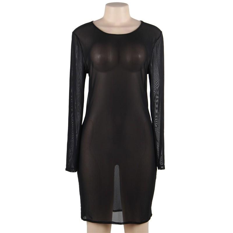 Vestido Saída de Praia Polinésia Plus Size (Manequins 48 e 50)