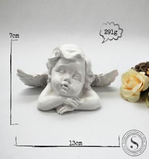 Aplique Resina Anjo - AS001 - Sandra Gotardo