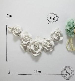 Aplique Resina Arabesco Floral - AF006 - Sandra Gotardo
