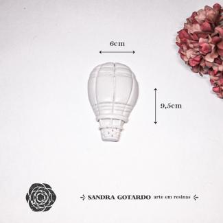 Aplique Resina Balão - AI051 - Sandra Gotardo