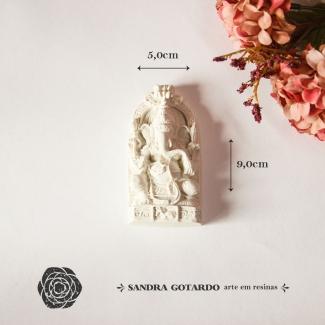 Aplique Resina Buda - DC018 -Sandra Gotardo