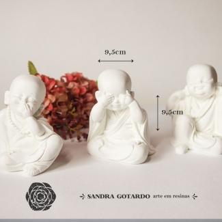 Aplique Resina Budas (3un) -DC019 - Sandra Gotardo