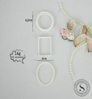 Aplique Resina Conjunto de Molduras - BP009 - Sandra Gotardo