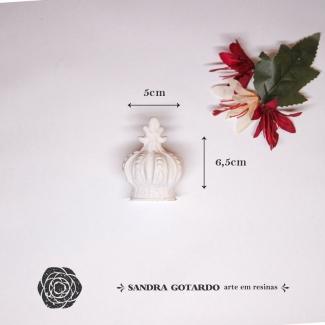 Aplique Resina Coroa 3D - CO011 - Sandra Gotardo