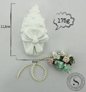 Aplique Resina Cupcake - CZ002 - Sandra Gotardo