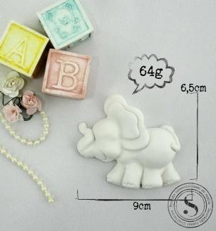 Aplique Resina Elefante - BC008 - Sandra Gotardo