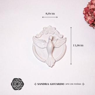 Aplique Resina Espírito Santo - ES056- Sandra Gotardo