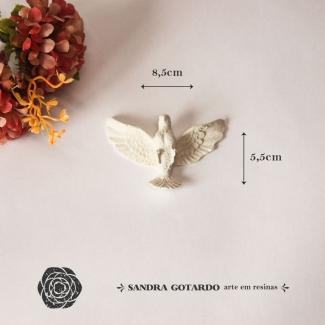 Aplique Resina Espirito Santo -ES071-Sandra Gotardo