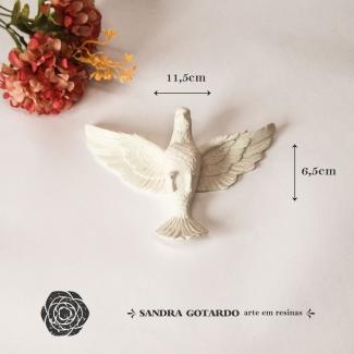 Aplique Resina Espirito Santo - ES076- Sandra Gotardo
