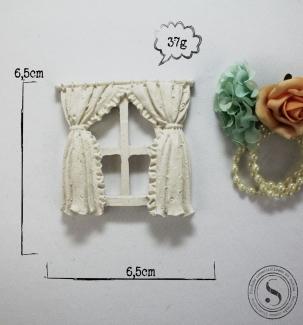 Aplique Resina Janela - BP019 - Sandra Gotardo