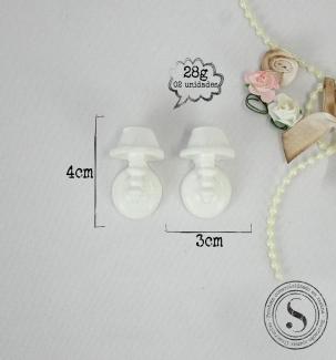 Aplique Resina Luminaria Rustica ( 2UN)   -  BP014 - Sandra Gotardo