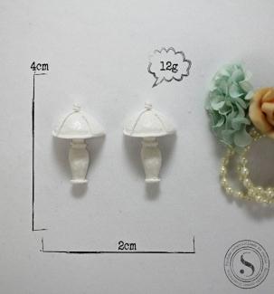 Aplique Resina Luminárias - BP025 - Sandra Gotardo