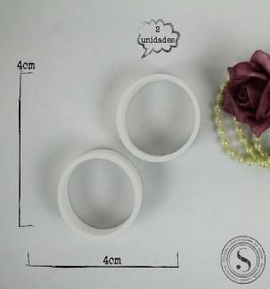 Aplique Resina Mini Molduras Redondas - AI035 - Sandra Gotardo