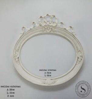 Aplique Resina Moldura Oval - MOM 007 - Sandra Gotardo