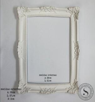 Aplique Resina Moldura Quadrada - MQM005 - Sandra Gotardo