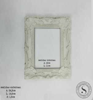 Aplique Resina Moldura Quadrada - MQM016 - Sandra Gotardo