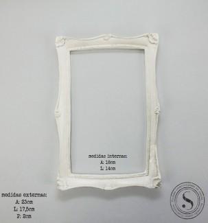Aplique Resina Moldura Quadrada - MQM 001 - Sandra Gotardo