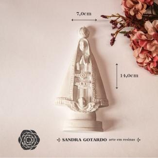 Aplique Resina Nossa Senhora - ES066 - Sandra Gotardo