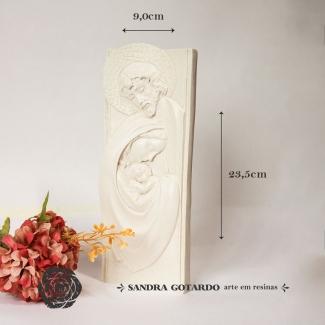 Aplique Resina Nossa Senhora - ES078 - Sandra Gotardo