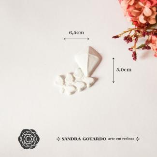 Aplique Resina Pipa - AI054 - Sandra Gotardo
