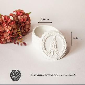 Aplique Resina Porta Joia - AI055 - Sandra Gotardo