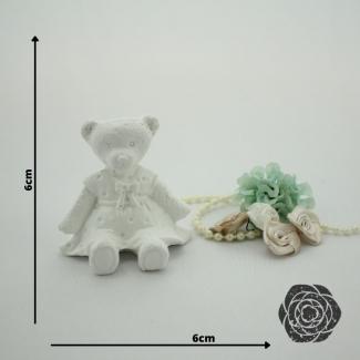 Aplique Resina Ursa 3D P -UR017-Sandra Gotardo