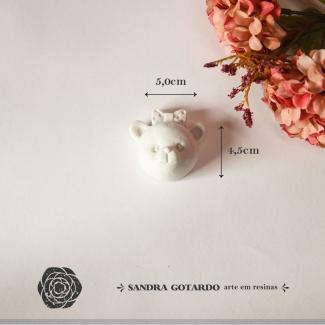 Aplique Resina Ursa - UR027 - Sandra Gotardo