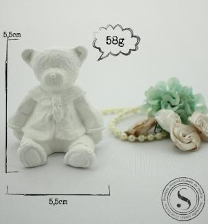 Aplique Resina Urso -  UR002 - Sandra Gotardo