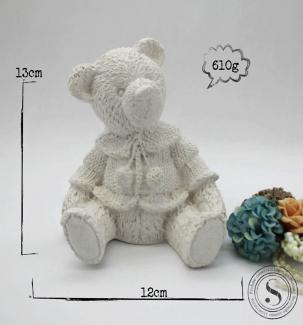 Aplique Resina Urso - UR010 - Sandra Gotardo