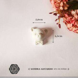 Aplique Resina Urso - UR026 - Sandra Gotardo