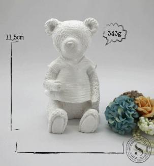 Aplique Resina Urso - UR 008 - Sandra Gotardo