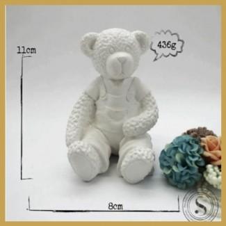 Aplique Resina Urso - UR 011 - Sandra Gotardo
